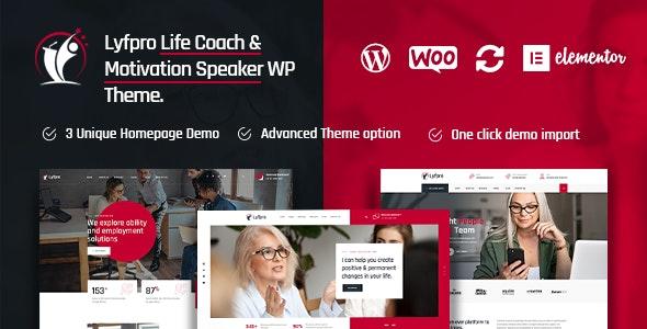 Lyfpro 1.2 – Life Coach WordPress Theme