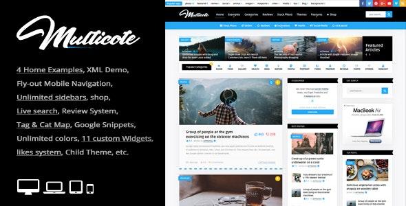 Multicote 2.6 – Magazine and WooCommerce WordPress Theme