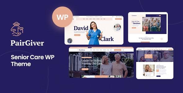PairGiver 1.0 – Senior Care WordPress Theme