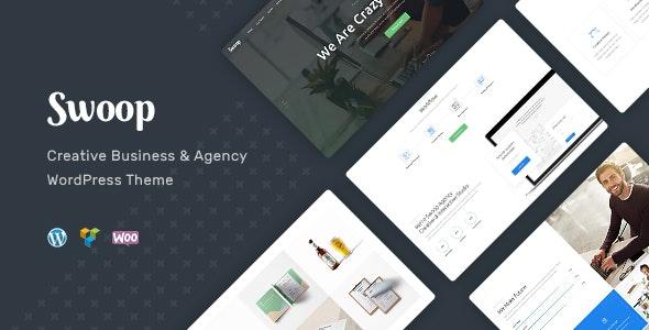 Swoop 1.1.3 – Web Studio & Creative Agency WordPress Theme