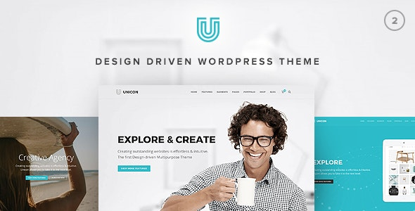 Unicon 2.8.1 – Design-Driven Multipurpose Theme