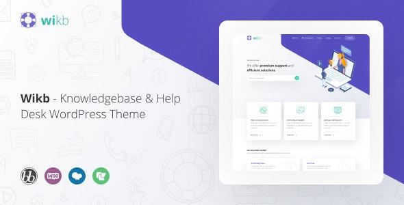 Wikb 1.3 – Knowledgebase & Help Desk WP Theme