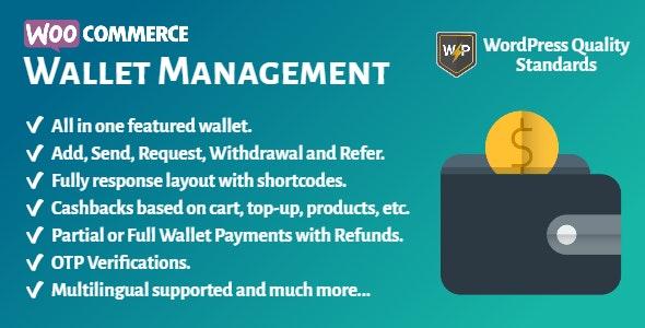 WooCommerce Wallet Management  v2.0.2