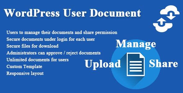 WordPress User Document v1.2.4
