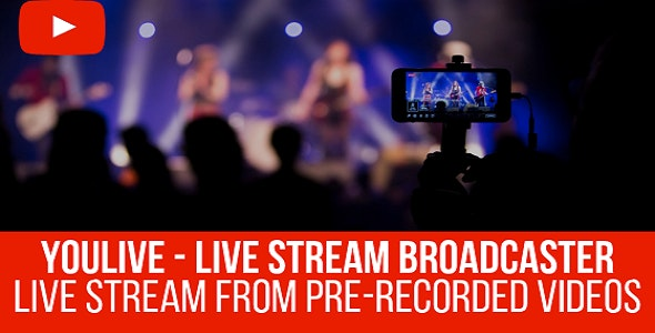 YouLive 1.1.1 – Live Stream Broadcaster Plugin for WordPress