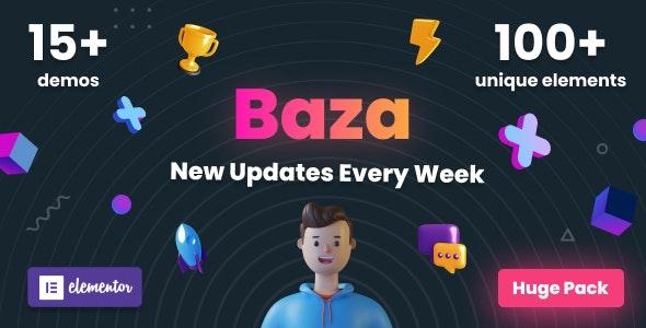 Baza 1.19 – Creative MultiPurpose WordPress Theme