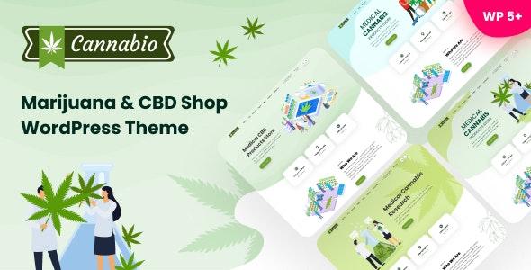 Cannabio 1.8.1 – Marijuana and Cannabis WordPress Theme