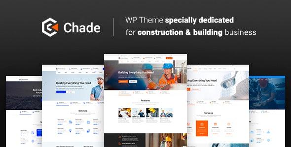 Chade 1.1.4 – Construction WordPress Theme