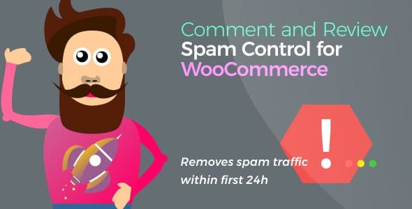 Comment and Review Spam Control for WooCommerce v1.5.0