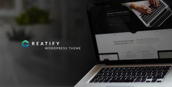 Creatify 1.5 – Multipurpose Business Theme