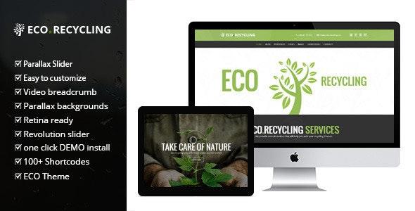 Eco Recycling 2.2 – Ecology & Nature WordPress Theme