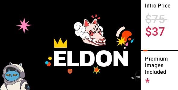 Eldon 1.0 – Artist Portfolio Theme