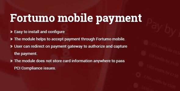 Forumo mobile payment WordPress plugin v1.0