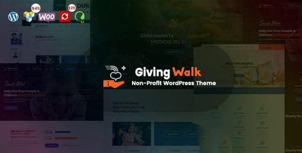 GivingWalk 2.0.1 – Multipurpose Nonprofit WordPress Theme