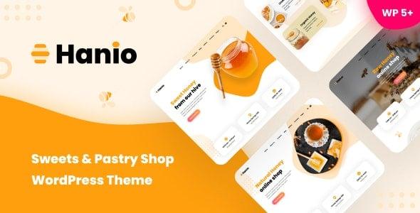 Hanio 1.93 – Sweets & Pastry Shop WordPress Theme