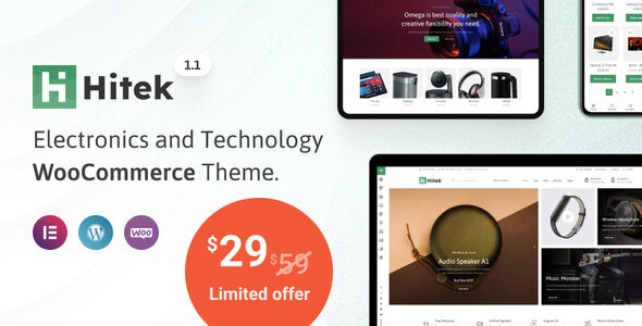 Hitek 1.1.0 – Electronics WooCommerce Theme