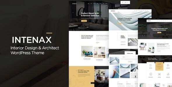 Intenax 1.7 – Architecture WordPress Theme