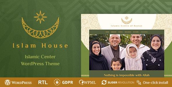 Islam House 1.0.5 – Mosque and Religion WordPress Theme