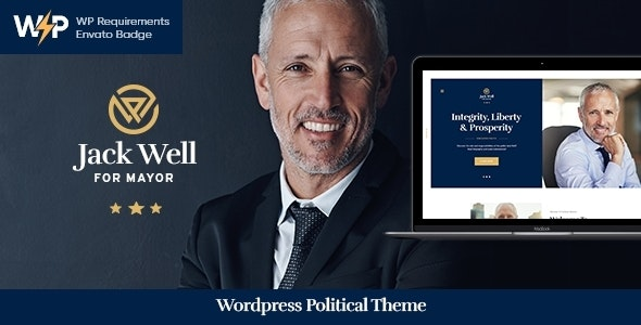 Jack Well 1.0.3 – Elections Campaign & Political WordPress Theme
