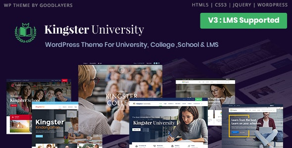 Kingster 3.1.1 – LMS Education For University, College and School