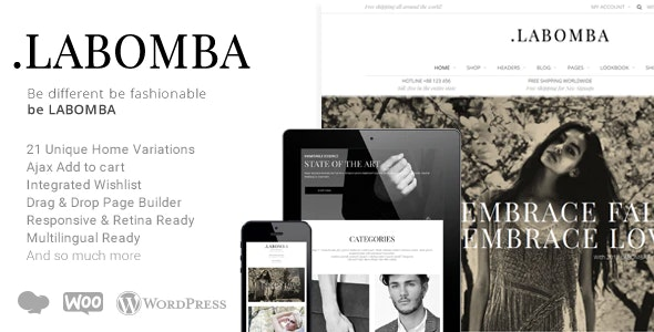 Labomba 3.1 – Responsive Multipurpose WordPress Theme