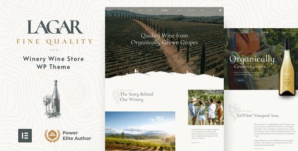 Lagar 4.0 – Winery Wine Shop WordPress