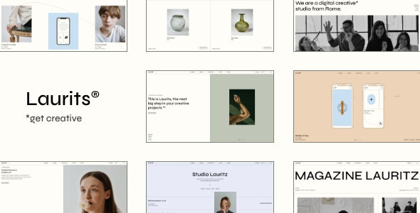 Laurits 1.0 – Portfolio and Agency Theme