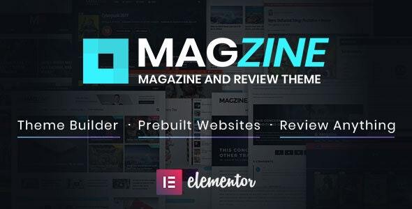 Magzine 1.2 – Elementor Review and Magazine Theme