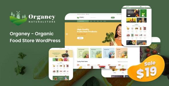 Organey 1.5.1 – Organic Food WooCommerce WordPress Theme