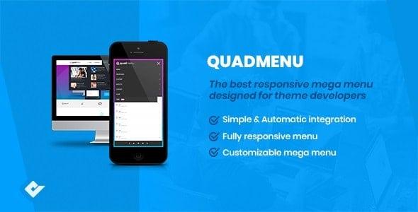 QuadMenu 1.9.3 – Themes Developer Mega Menu