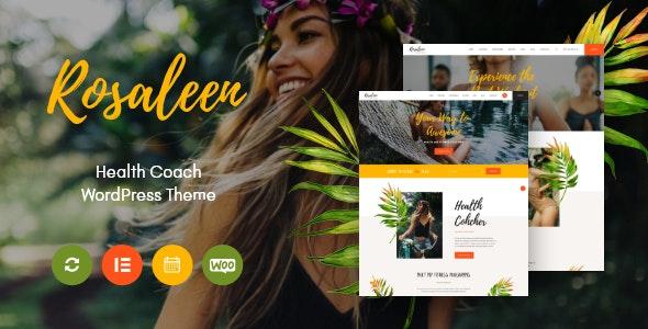 Rosaleen 1.0.3 – Health Coach, Speaker & Motivation WordPress Theme