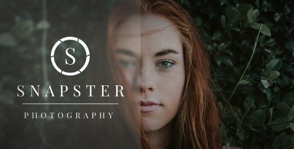 Snapster 1.0.7 – Photography WordPress