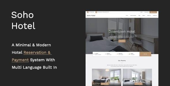 Soho 4.0.2 – Hotel Booking Calendar