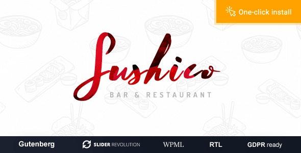 Sushico 1.0.6 – Sushi and Asian Food Restaurant WordPress Theme