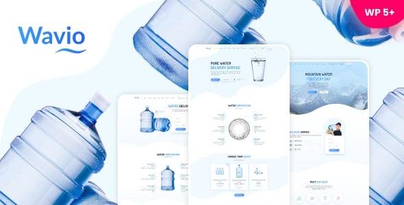 Wavio 1.2.1 – Bottled Water Delivery WordPress Theme