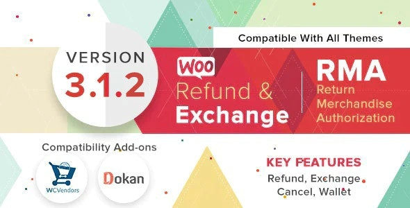 WooCommerce Refund And Exchange With RMA v3.1.2