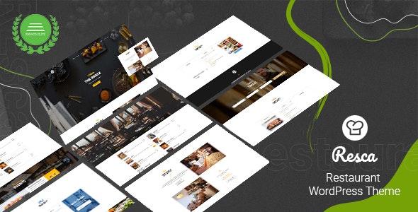 Resca 2.9.2 – Restaurant WordPress Theme