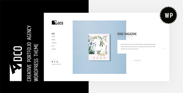 Adco 1.0 – Creative Agency WordPress