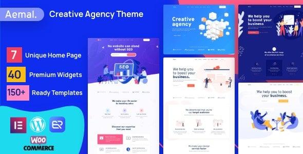 Aemal 3.2.0 – Startup Business WordPress Theme
