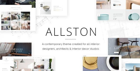 Allston 1.4 – Contemporary Interior Design and Architecture Theme