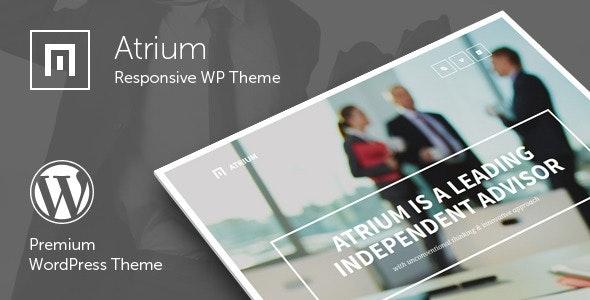 Atrium 2.7 – Finance Consulting Advisor WordPress Theme