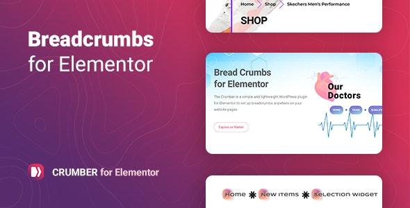 Crumber 1.0 – Breadcrumbs for Elementor