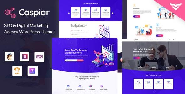 Caspiar 1.3 – Digital Marketing & Agency WordPress Theme