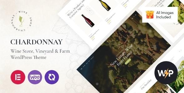 Chardonnay 1.0 – Wine Store & Vineyard WordPress Theme