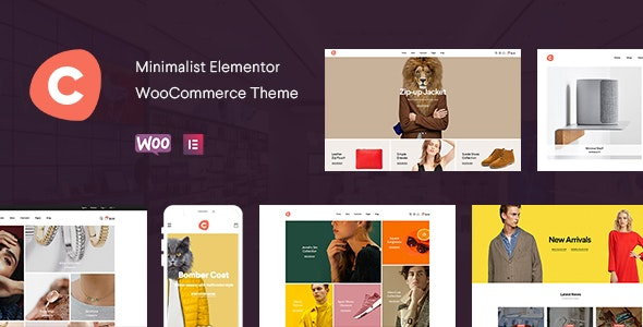 Ciao 1.5.11 – Minimalist Elementor WooCommerce Theme