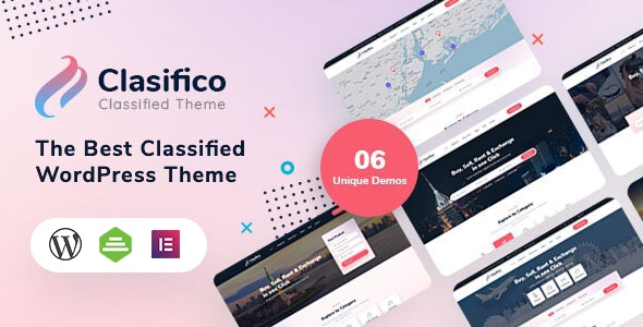 Clasifico 1.0.2 – Classified Ads WordPress Theme