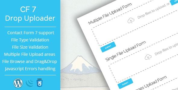 Drop Uploader 2.3.1 – Drag&Drop File Uploader Addon