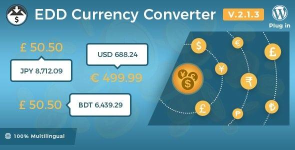 Easy Digital Downloads – Currency Converter v2.1.3