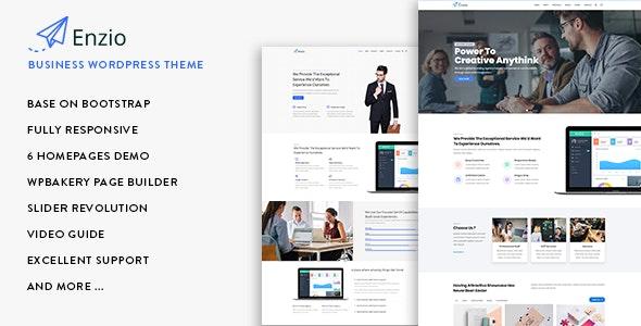 Enzio 1.0.6 – Responsive Business WordPress Theme