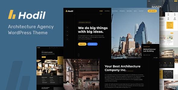 Hodil 1.3.0 – Architecture Agency WordPress Theme